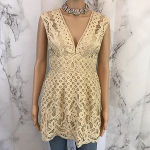 Free People Tops - Free People Lacy Stacy Top